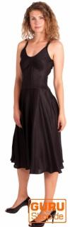 Knielanges Kleid, ärmellos / Chapati Design - black - Vorschau 2