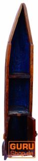 Boot Regal, Weinregal, Bücherregal aus altem Bootsrumpf 220 cm - Boot 8 - Vorschau 3