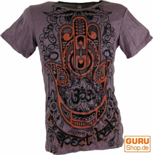 Baba T-Shirt - Fatimas Hand mit Om