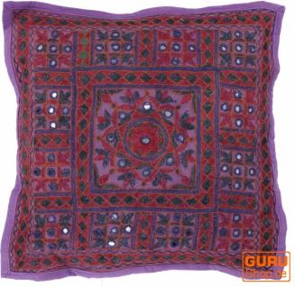 Kissenhülle, Orient Kissenbezug, bestickter Dekokissen Bezug - Muster 8