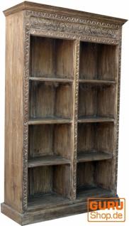 Bücherregal mit geschnitzter Front, - Vorschau 2