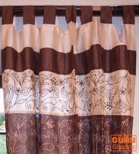 Exceptionnel Vorhang, Gardine (1 Paar Vorhänge, Gardinen)   Braun   Vorschau 2