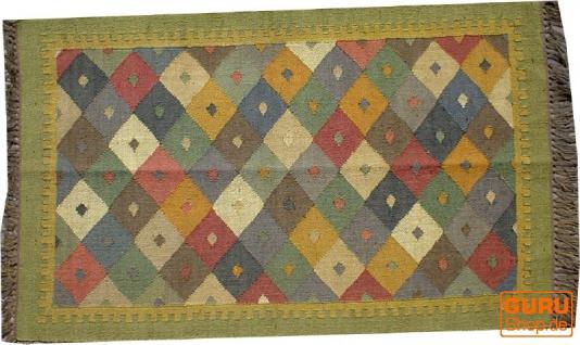 Orientalischer grob gewebter Kelim Teppich 160*90 cm - Muster 2
