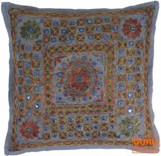 Kissenhülle, Orient Kissenbezug, Dekokissen Bezug `Maharaja` - Muster 9