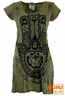 Sure Long Shirt, Minikleid Fatimas Hand - olive