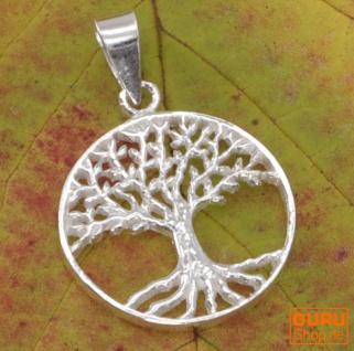 Silberanhänger Baum des Lebens, Tree of Life Talisman - Model 8