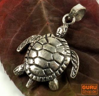 Silberanhänger Schildkröte - Model 3
