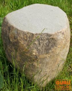 Flußstein Tisch, Hocker - 7