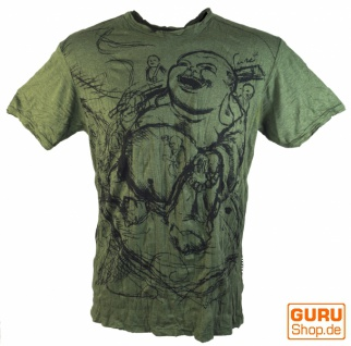 Sure T-Shirt Happy Buddha - olive