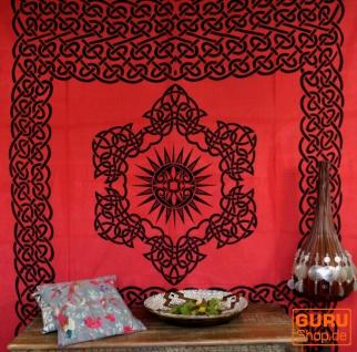 Wandbehang, Wandtuch, Mandala, Tagesdecke Keltisch - Design 18