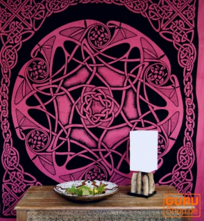 Wandbehang, Wandtuch, Mandala, Tagesdecke Keltisch - Design 15