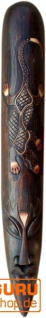 Abstrakte Maske, Wandschmuck, Ethno Wanddekoration aus Balsaholz - Modell 7