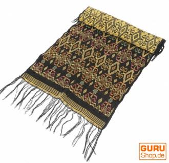 Traditionelles handgewebtes Ikat Tuch, Tischläufer, Tischdecke aus Sumba, 150 x 47cm - Motiv 7