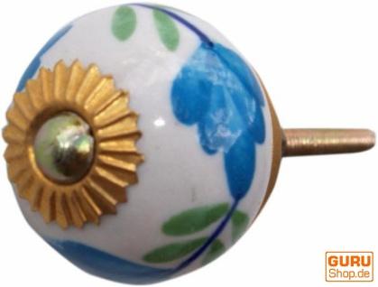 Keramik Möbelknopf, Möbelknauf Möbelgriff, Schranktürknöpfe, Möbelknöpfe, Schubladengriff - Modell 89