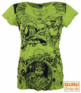 Sure T-Shirt Meditation Thai Buddha - lemon