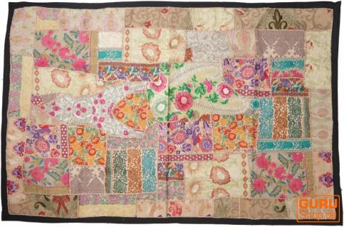 Indischer Wandteppich Patchwork Wandbehang, Einzelstück 150*100 cm - Muster 28