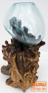 Wurzelholz Vase ca. 50 cm - 3