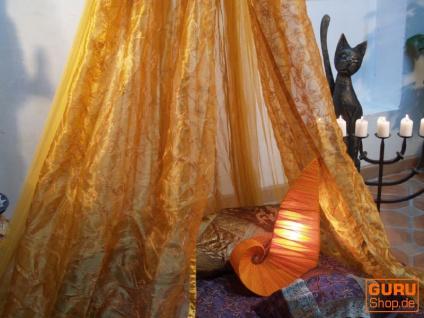 Moskitonetz, Himmelbett 1001 Nacht - goldgelb