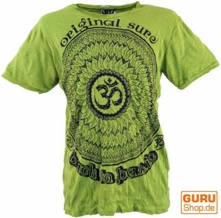 Sure T-Shirt Mandala OM - lemon