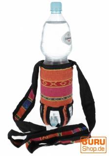 Wasserflaschen Tasche, Flaschenhalter Ethno - Model 2