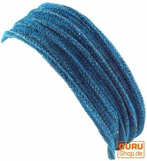 Magic Hairband, Dread Wrap, Schlauchschal, Stirnband - Haarband türkis