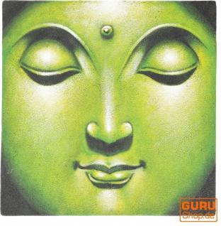 Kleiner Buddha auf Leinwand 40*40 cm - Motiv 18