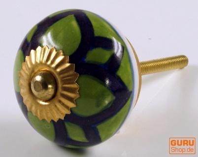 Keramik Möbelknopf, Möbelknauf Möbelgriff, Schranktürknöpfe, Möbelknöpfe, Schubladengriff - Modell 12