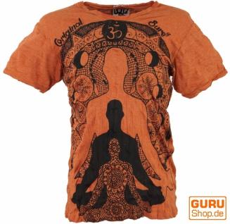 Sure T-Shirt Meditation Buddha - rostorange - Vorschau 1