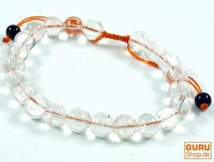 Mala Armband Bergkristall, Handmala - Modell 19