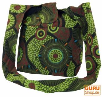 Sadhu Bag, Shopper, Schulterbeutel - grün