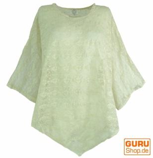 Elfen Shirt Goa chic, Spitzentunika, Ponchobluse