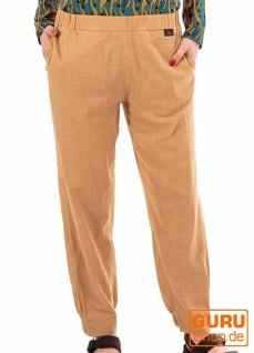 Hose aus Bio-Baumwolle / Chapati Design - beige