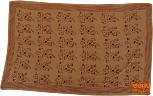dünnes Tuch, Sarong, Wandbehang, Wickelrock, Sarongkleid 1 - Vorschau 2