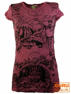 Sure T-Shirt Univers - bordeaux