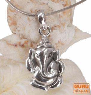 Silber Anhänger GaneshaTalisman - 14