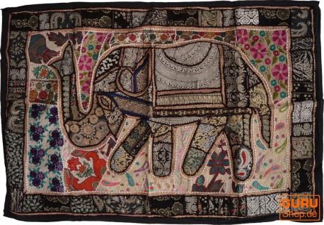 Indischer Wandteppich Patchwork Wandbehang, Einzelstück 150*100 cm - Muster 44