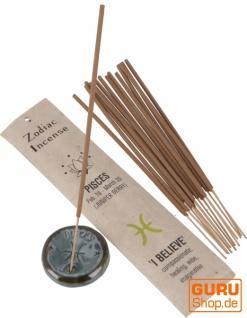Horoskop Räucherstäbchen, natürliches Sternzeichen Räucherwerk - Fische/Wacholderbeere