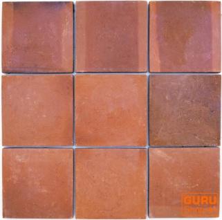 Handgemachte Terracotta Fliesen 30*30cm 1 Paket = 8 Fliesen bzw 0.72 m²