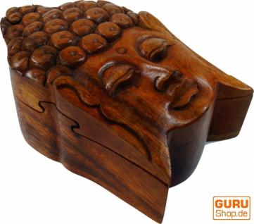 Puzzlebox, Schmuckschatulle, Magic Box, Schachtel mit Geheim Verschluß - Buddha 3