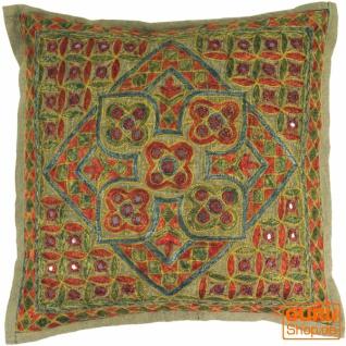 Kissenhülle, Orient Kissenbezug, Dekokissen Bezug `Maharaja` - Muster 38