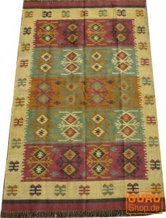 Orientalischer grob gewebter Kelim Teppich 250*150 cm - Muster 2