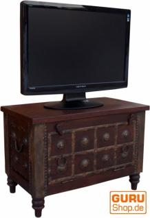 Wonderbaarlijk Plasma TV Box, Fernsehtisch im Kolonialstil - XL Modell 1 - Kaufen GR-48