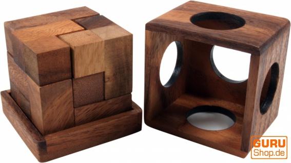 Holzspiel, Geschicklichkeitsspiel, Knobelspiel - Soma