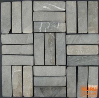 Stäbchen Mosaik Fliesen aus Marmor (P-06) - Design 10