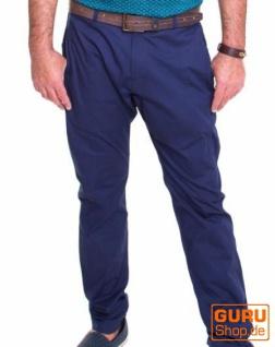 Hose aus Bio-Baumwolle / Chapati Design - navy