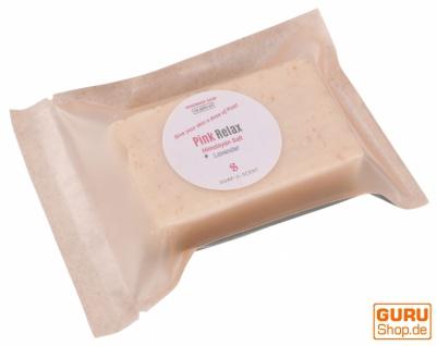 Handgemachte Duftseife mit Himalayasalz, 100 g Fair Trade - Pink Relax