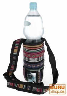 Wasserflaschen Tasche, Flaschenhalter Ethno - Modell 8