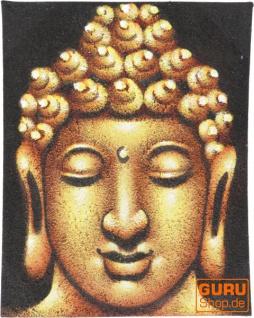 Kleiner Buddha auf Leinwand 20*25 cm - Motiv 20