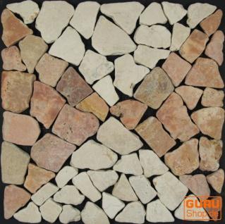 Muster Mosaikfliese aus Marmor (Mo-04) - Design 17
