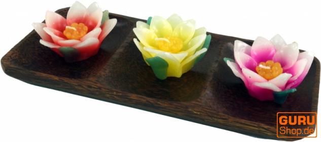 Schale aus Kokosholz, Kokosschale rechteck - Design 4
